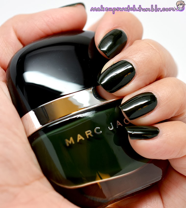 makeup: Marc Jacobs No. 128 Nirvana Enamored Hi-Shine Nail Laquer