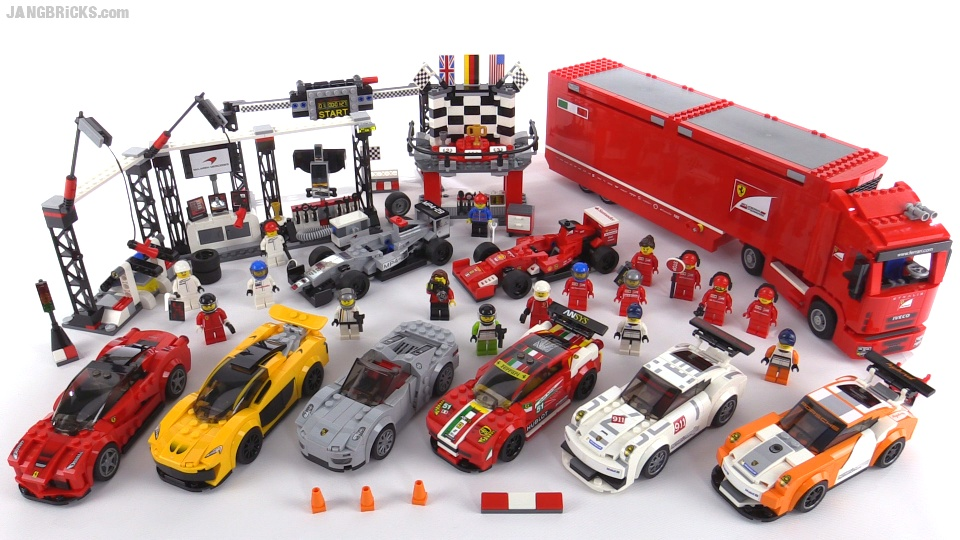 Lego Speed Champions 2015 All Sets Wrap Up