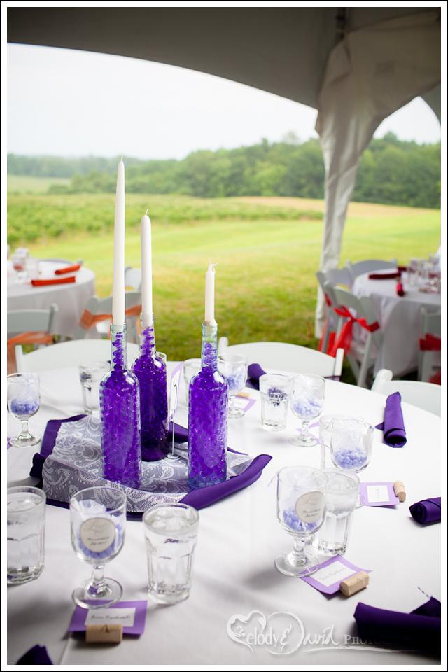 DIY centerpieces for wedding