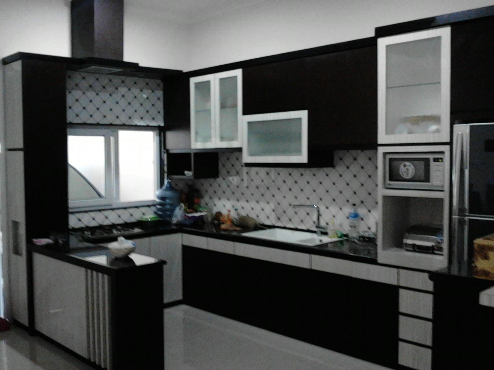 Jasa Pemborong Bangunan Exterior Interior Kitchen Set Minimalis