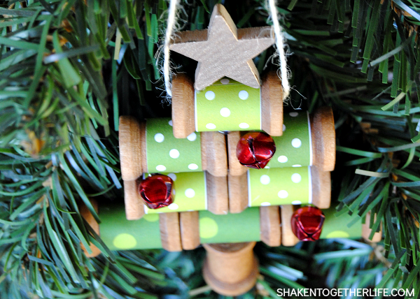 Wooden ornaments