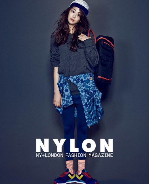 K-Fashion Inspiration: I'm ready to go out of the country by Dasom