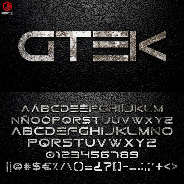 Tipografia Gtek