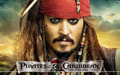 Johnny Depp - Pirates of The Carribean on tranger tides