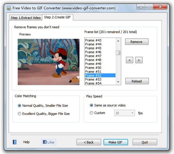 Free Video Converter to GIF including AVI, WMV, MPEG, MOV, FLV, MP4 ...
