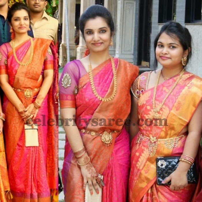 Pretty Women Kollam Pattu Saree
