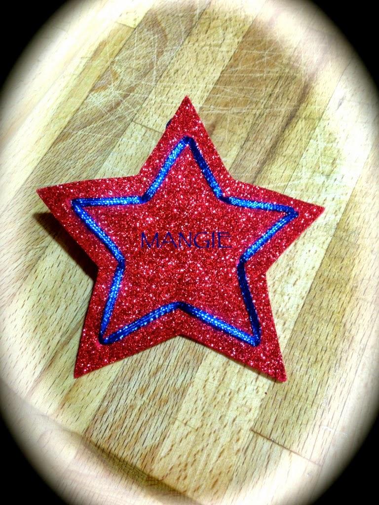 Estrella purpurina