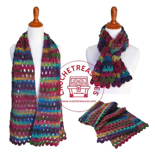 Dew Drop Wrap Free Crochet Pattern : Crochet Treasures: Dew Drop Wrap