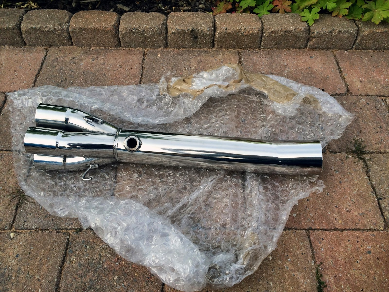 The Polished Caterham Cat Bypass Pipe