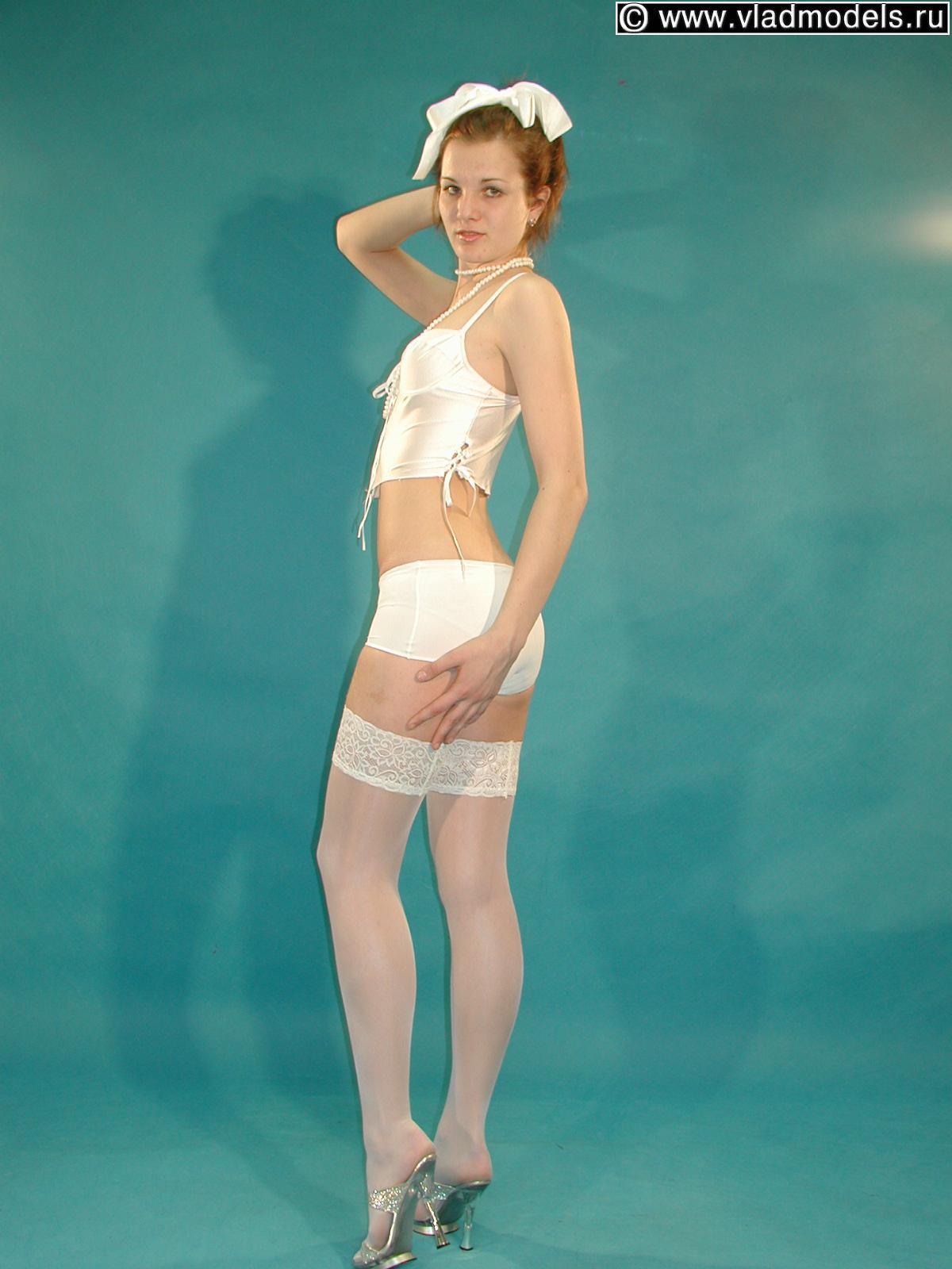 Teen Young Vlad Model Pantyhose