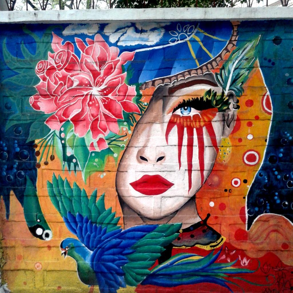 Beautiful murals at san marcelino street manila gigi alejo for Bonifacio mural painting