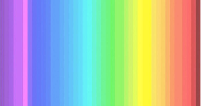 can you see all the colors in this spectrum