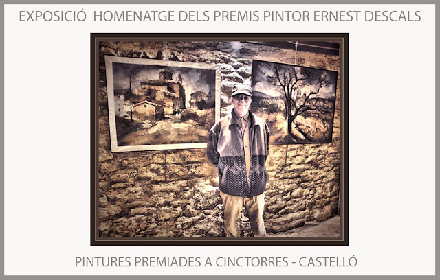 CINCTORRES-PINTURA-PREMIS-CONCURS-EXPOSICIÓ-HOMENATGE-MAESTRAT-CASTELLÓ-MAESTRAZGO-FOTOS-PINTOR-ERNEST DESCALS