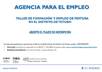 Taller de Formación y Empleo: Pintura