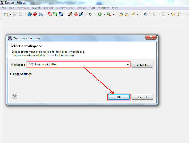 How to configure Selenium RC with JUnit using Eclipse?