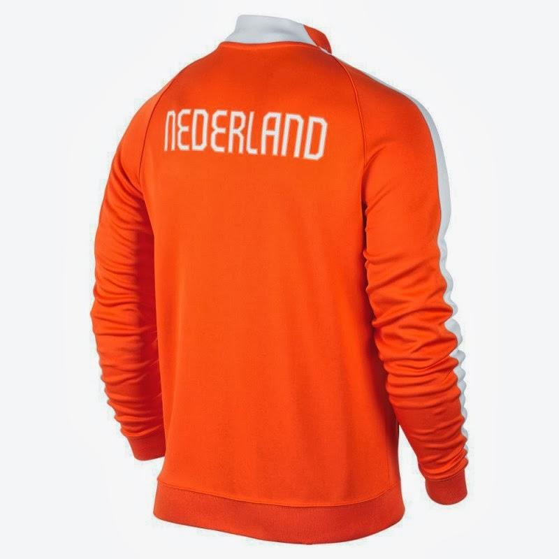 jaket n98 belanda 20142016 football style