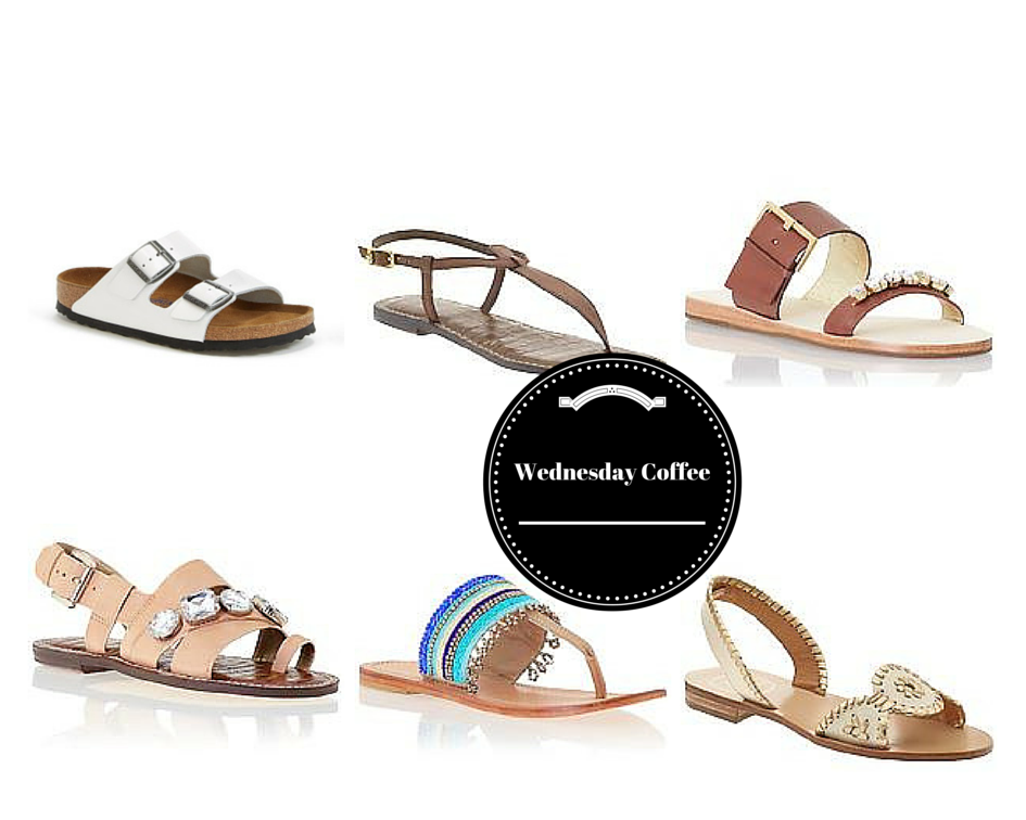 Wednesday Coffee: Sandals