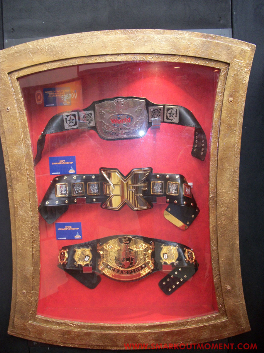 WrestleMania Axxess Title Belts