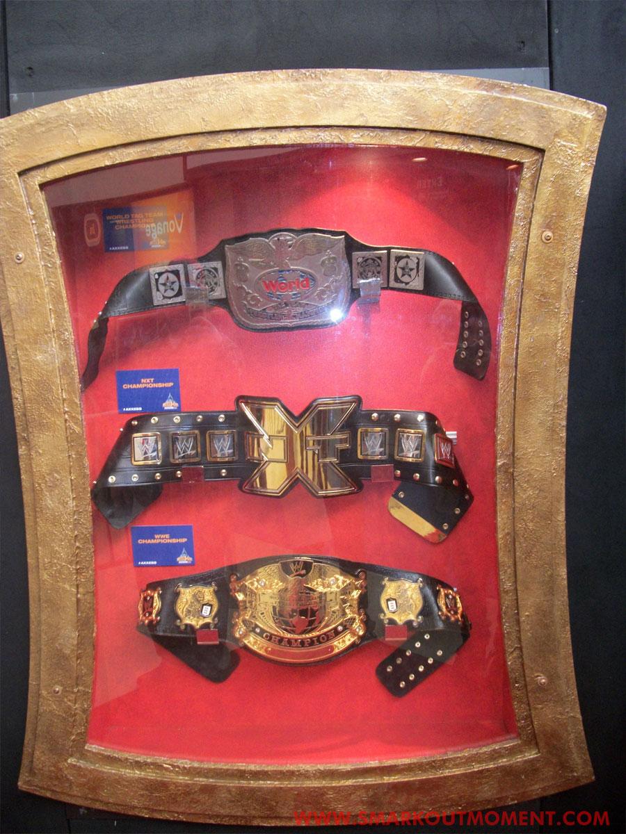 WrestleMania Axxess Title Belts