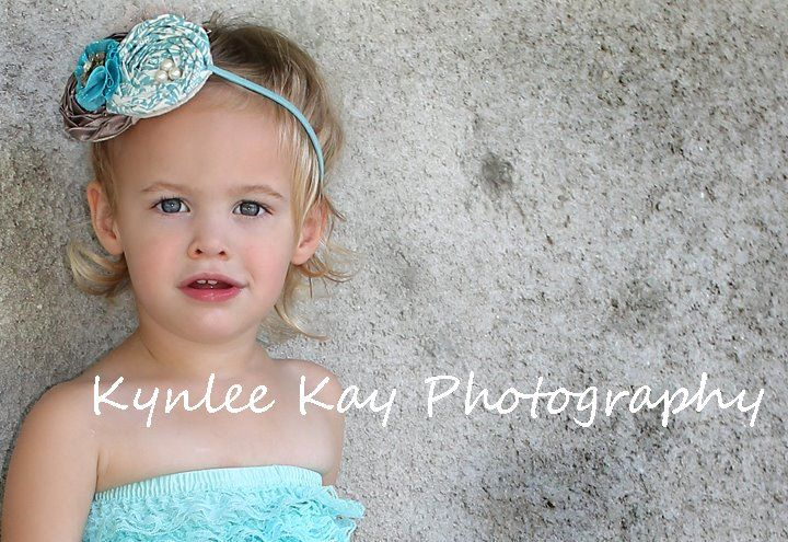 A Creative Touch: Kynlee ~ Lace & Vintage Hair Accessory