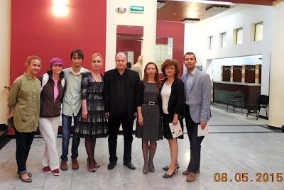bloggerii cu maestrul Radu Postavaru