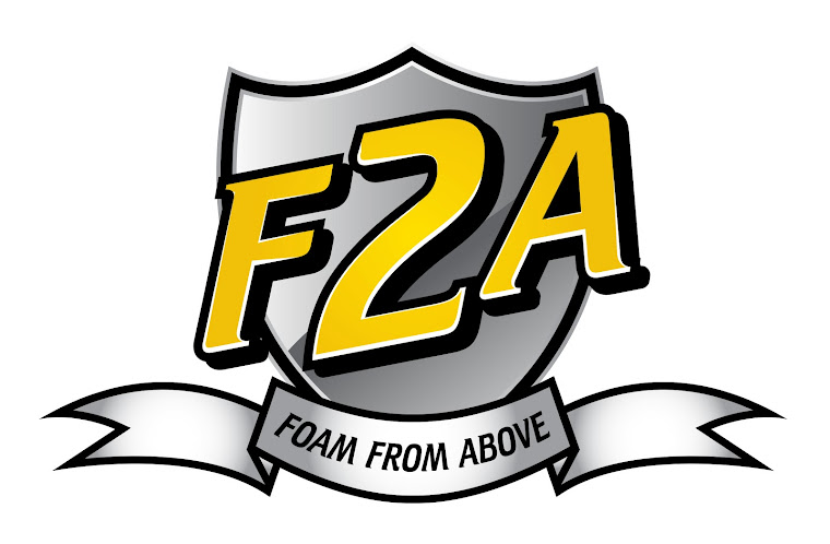Foam From Above:  Forever at Play - F2A