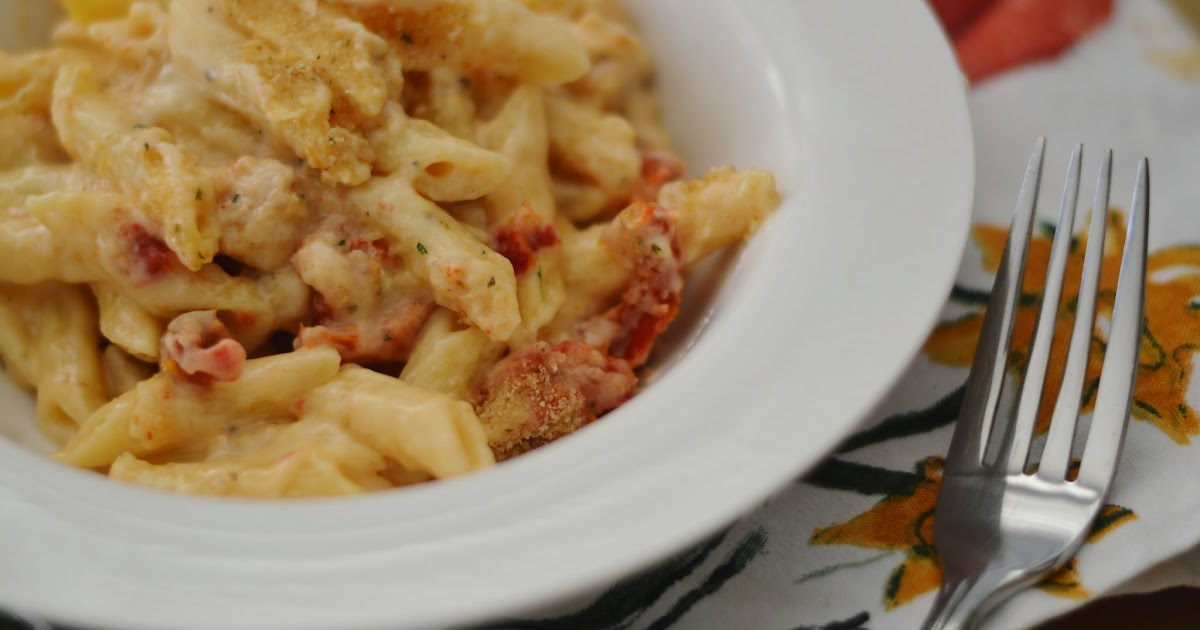 The Art of Comfort Baking: Baked Penne with Chicken and ...
