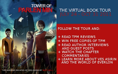 Review and GIVEAWAY- Tower of Parlen Min by Matt Xell Blog Tour