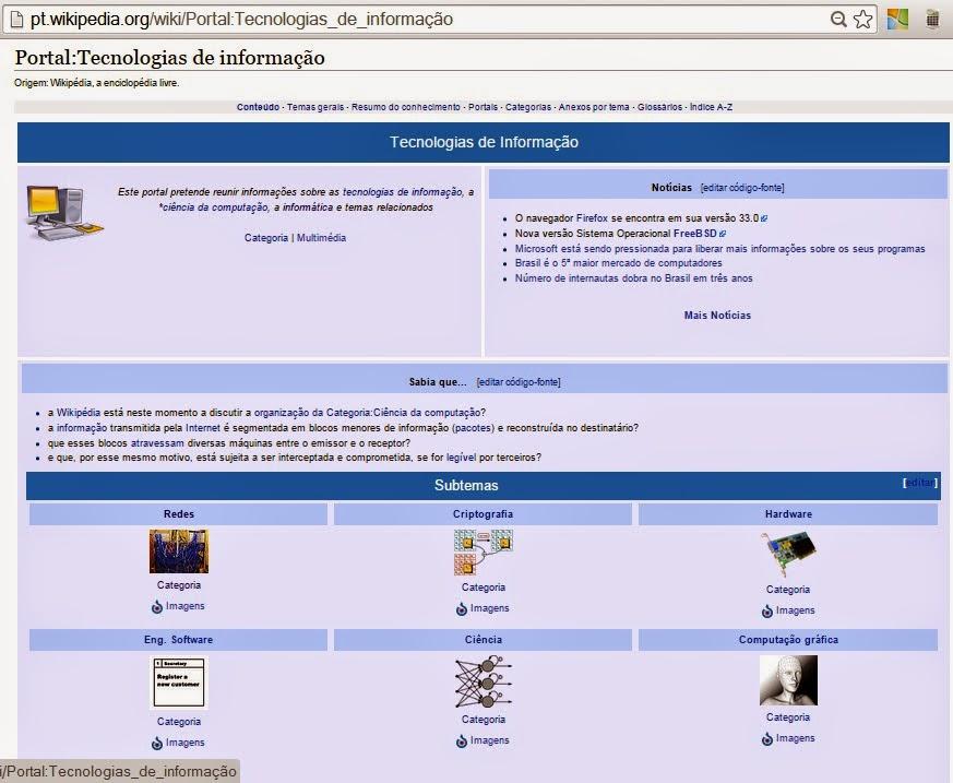 Portal das Tecnologias da Informação - Wikipédia