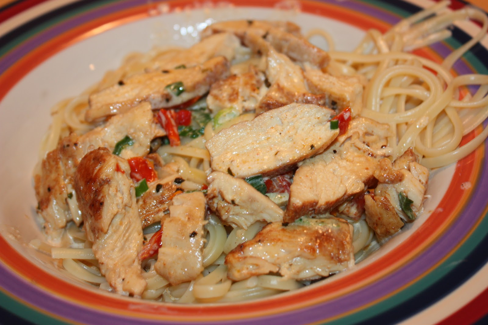 cooking with crystal: Cajun Chicken Pasta