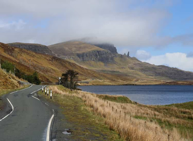Coastal Road, Isle Of Skye, Scotland