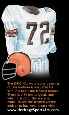 Cleveland Browns 1969 uniform