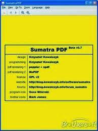 برنامج قراءة ملفات البى دى اف download sumatra pdf