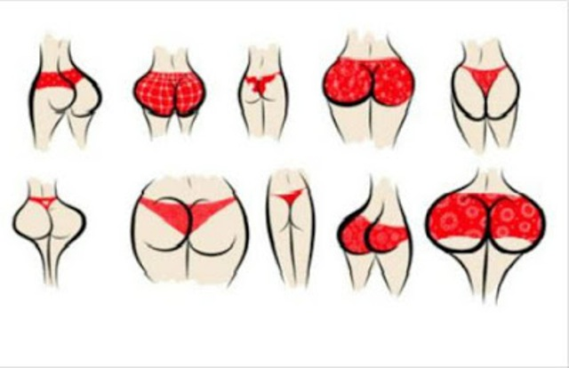 Here Is What Your Butt Shape Says About You