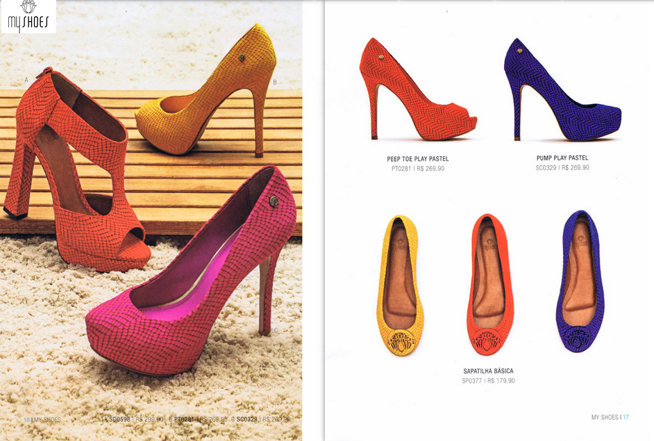 Catálogo MyShoes