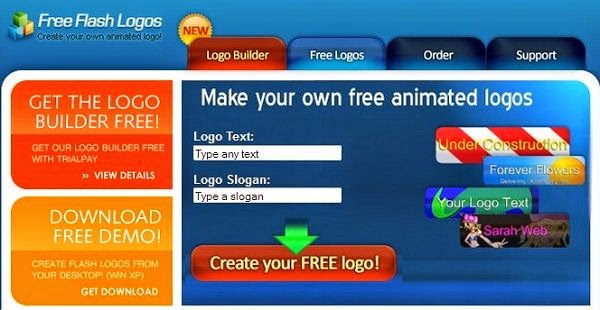 Free Flash Logos Maker Online
