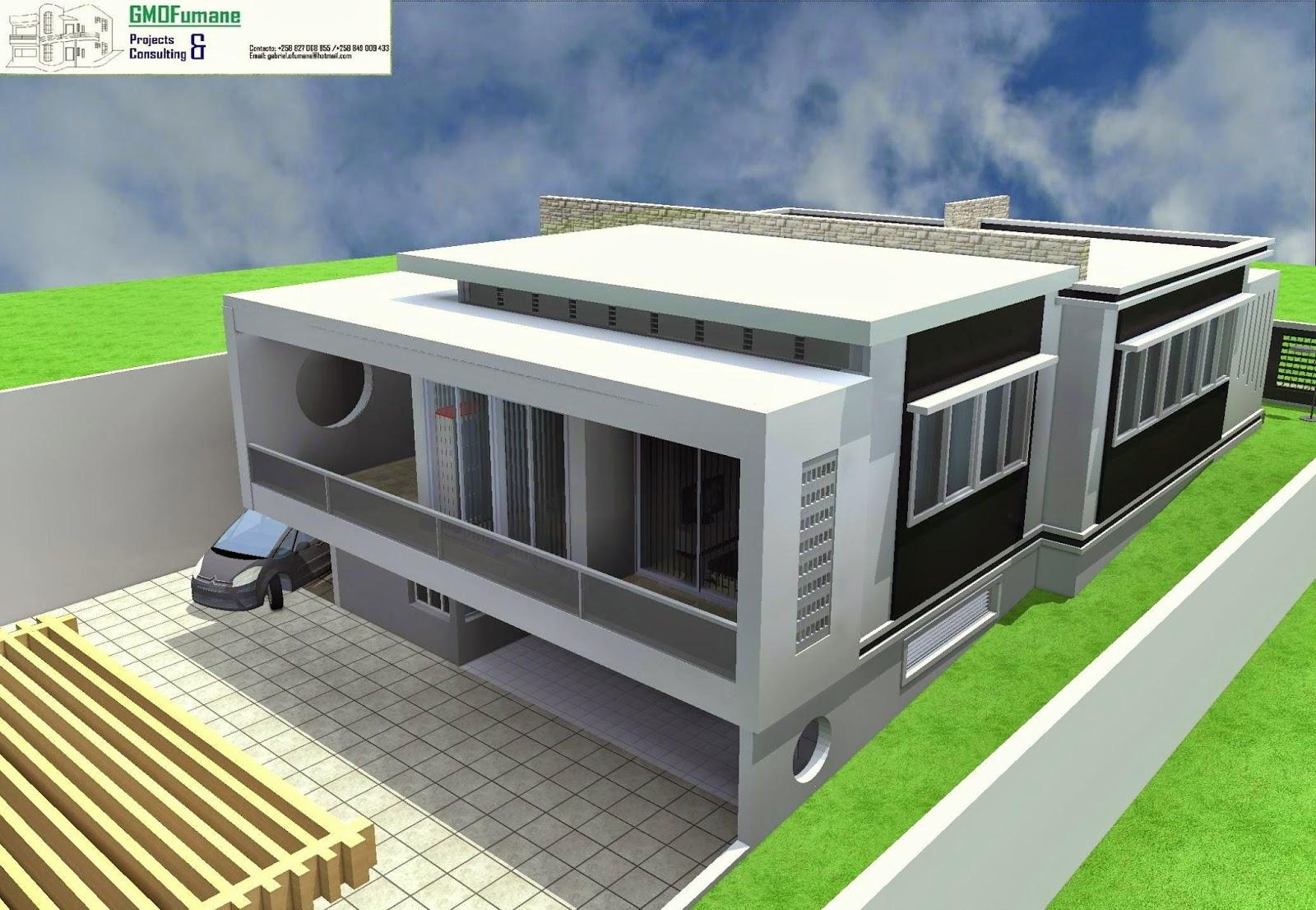 Casa tipo 3 com cave for Plantas de casas tipo 3 modernas