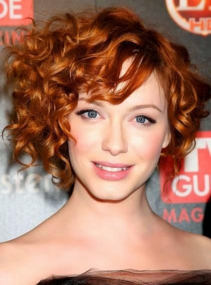 celebrity curly hairstyles Celebrity Best Bob Curly Pixie Classy