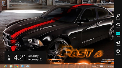 Download Fast And Furious 6 Theme For Windows 8