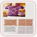 Blusa crochet con grannys
