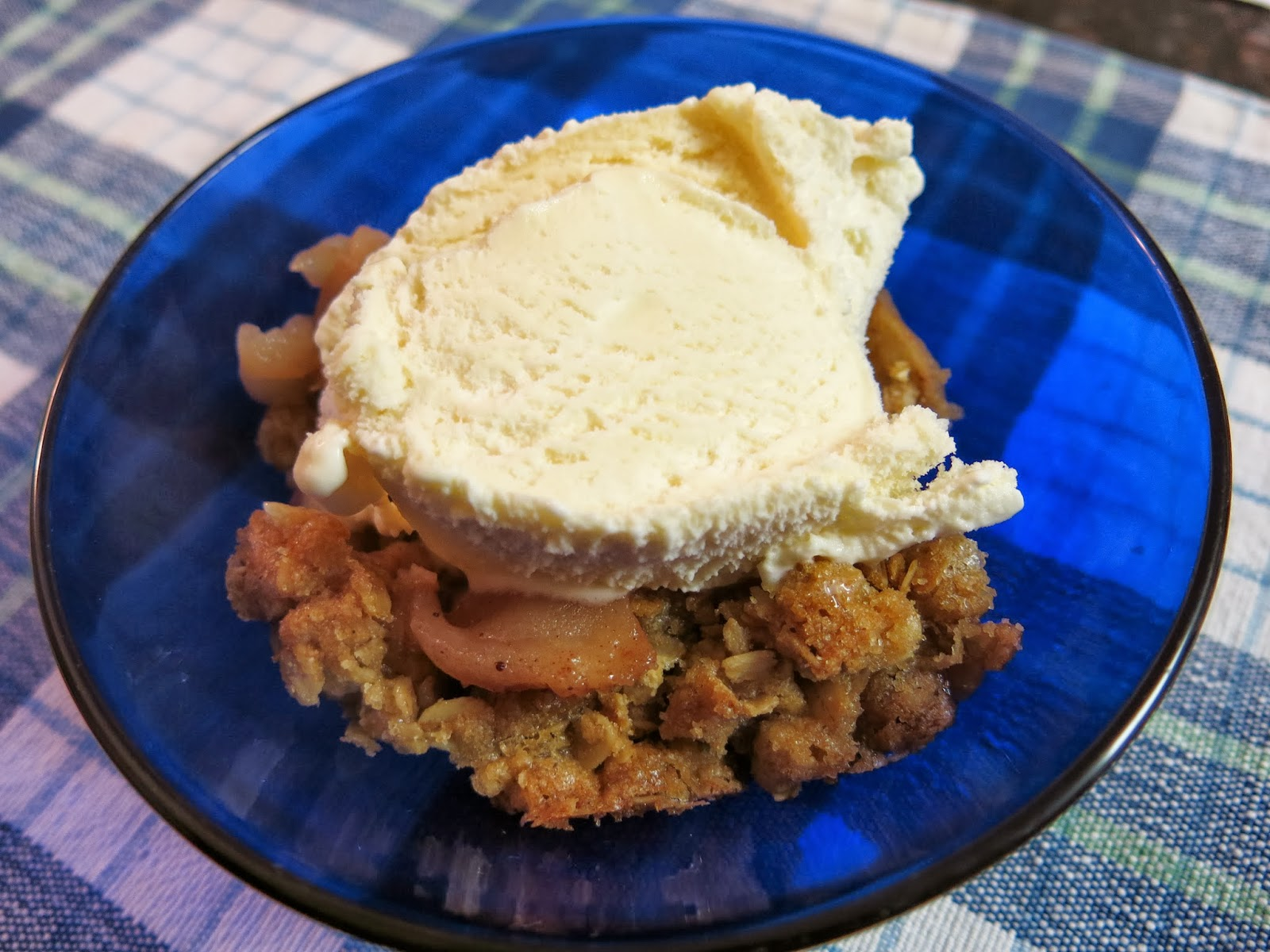 Egg Allergy Cooking: Apple Crisp