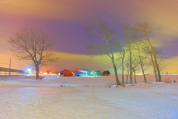 Bright Colored Night: Photos by Fuke
