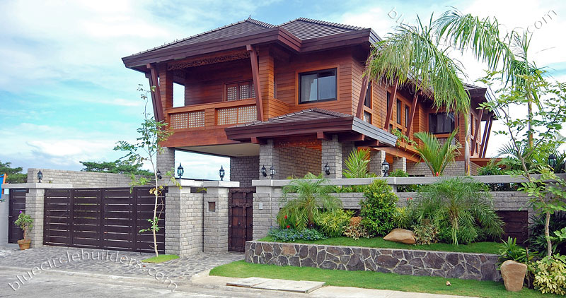 Model home in the philippines modern house plans designs for Garden design ideas in philippines