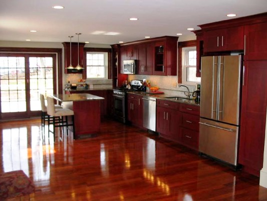 Cherry Kitchen Cabinets Pictures Kitchen Design Best Kitchen