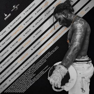 Burna Boy - On A Spaceship track list