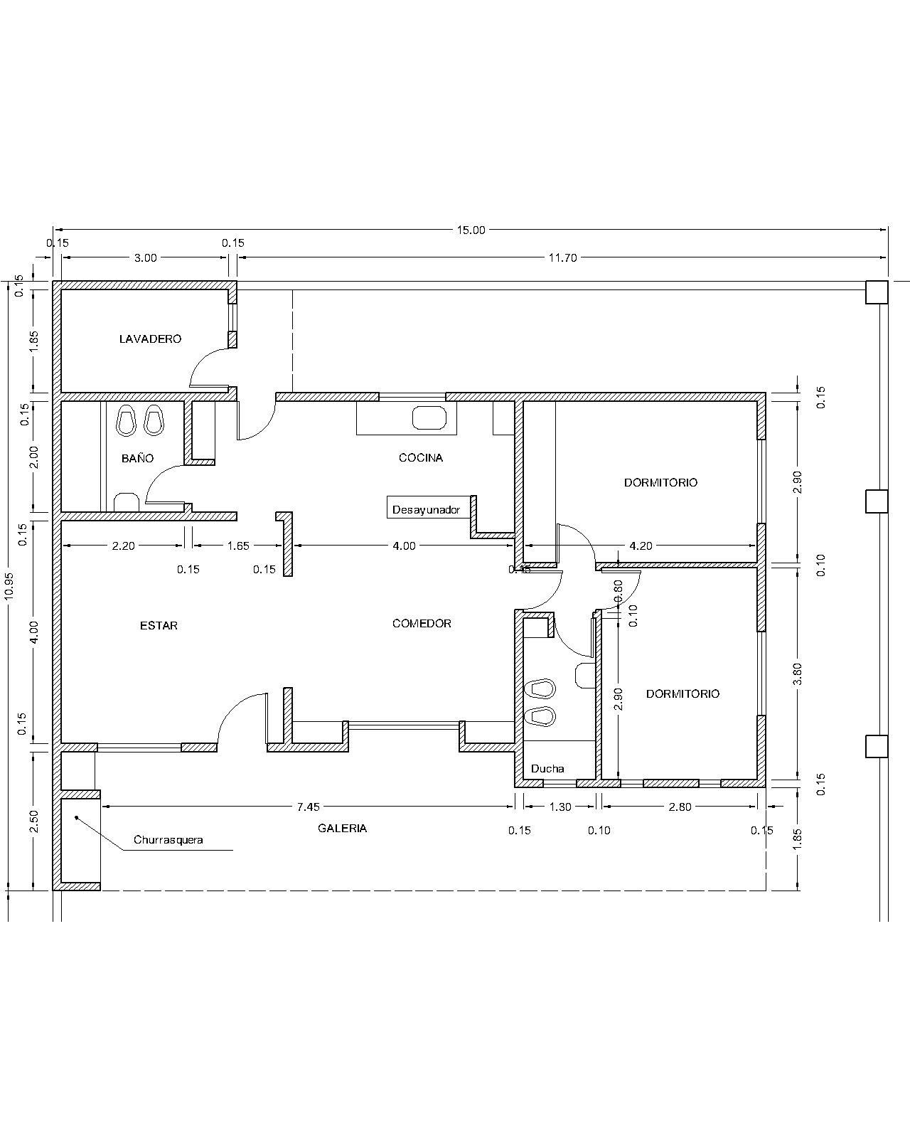 Planos proyectos y construcci n en paran procrear for Programa para planos de viviendas
