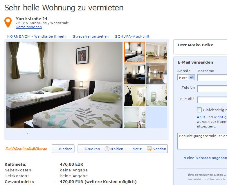 sehr helle wohnung zu vermieten informationen ber wohnungsbetrug. Black Bedroom Furniture Sets. Home Design Ideas