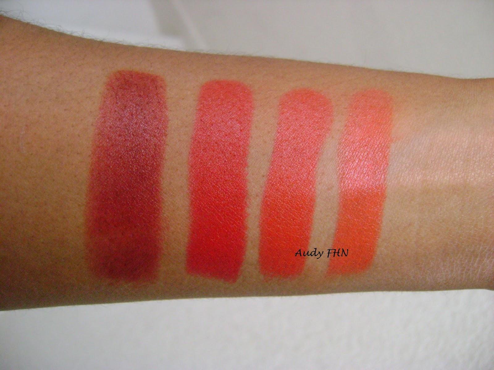 Extrêmement Un beau rouge à lèvres matde couleur rouge évidemment ! - AUDY  DN95