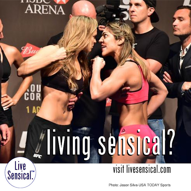 Ronda Rousey vs. Bethe Correia - livesensical.com? Correia earned the title shot by winning each of her three UFC bouts to date. For Rousey, this bout is an opportunity to defend her UFC title for a fifth time.