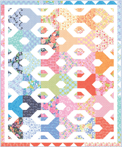 Free Quilt Patterns For Moda Fabric : Moda... the Cutting Table: New Free Patterns